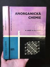 náhled knihy - Anorganická chemie: Učeb. pro 1. roč. stř. prům. škol chem. a škol s chem. zaměřením