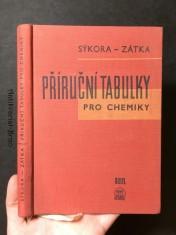 náhled knihy - Příruční tabulky pro chemiky: Určeno pro chemiky v prům. a výzkum. laboratořích a stud. prům. a vys. škol chem.