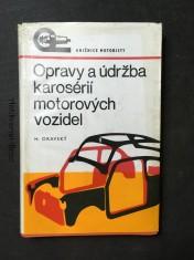 náhled knihy - Opravy a údržba karosérií motorových vozidel