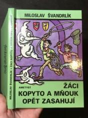 náhled knihy - Žáci Kopyto a Mňouk opět zasahují