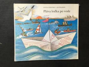 náhled knihy - Pláva lodka po vode