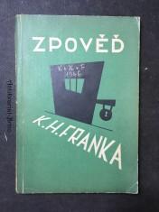 náhled knihy - Zpověd, K.H. Franka podle vlastních výpovědí v době vazby u krajského soudu trestního na Pankráci
