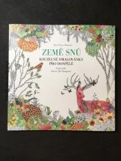 náhled knihy - Země snů - Kouzelné omalovánky pro dospělé