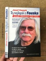 náhled knihy - To nejlepší z Fouska, aneb, Nemám čas lhát: satira, aforismy, epigramy, texty, básně, parafráze, epitafy