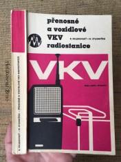náhled knihy - Přenosné a vozidlové VKV [velmi krátké vlny] radiostanice