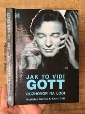 náhled knihy - Jak to vidí Gott: rozhovor na lodi