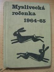 náhled knihy - Myslivecká ročenka 1964 - 1965