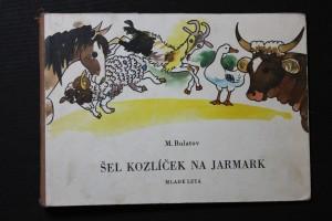 náhled knihy - Šel kozlíček na jarmark