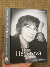 náhled knihy - Hana Hegerová : lásko prokletá