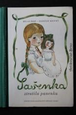náhled knihy - Sašenka ztratila panenku : Pro předškolní věk