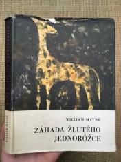 náhled knihy - Záhada žlutého jednorožce