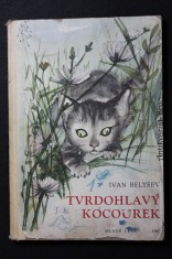 náhled knihy - Tvrdohlavý kocourek