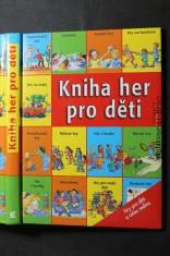 náhled knihy - Kniha her pro děti