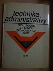náhled knihy - Technika administrativy