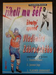 náhled knihy - Říkali mu šéf : životní zpověď Vladimíra Zábrodského