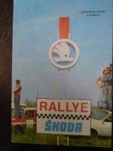 náhled knihy - Rallye Škoda