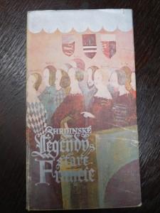 náhled knihy - Hrdinské legendy staré Francie