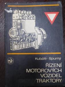 náhled knihy - Řízení motorových vozidel (traktory) : Učeb. text pro zeměd. a lesnické učeb. a stud. obory