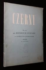 náhled knihy - Czerny Op. 337. 40 denních cvičení pro klavír na 2 ruce