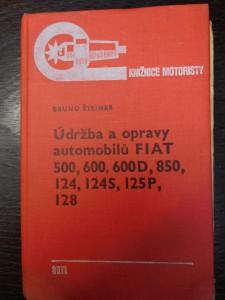 náhled knihy - Udržba a opravy automobilů Fiat