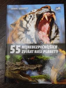 náhled knihy - 55 nejnebezpečnějších zvířat naší planety
