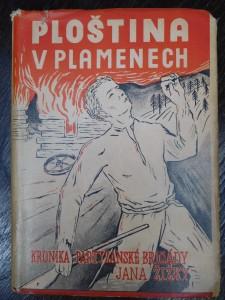 náhled knihy - Ploština v plamenech : Partyzánská kronika [brigády Jana Žižky]