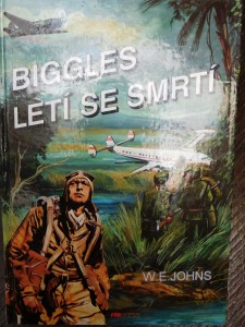 náhled knihy - Biggles letí se smrtí
