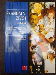 náhled knihy - Skandální život anglických královských rodů