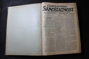 náhled knihy - Československá samostatnost + Čechoslovan