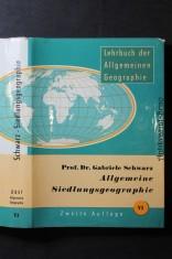 náhled knihy - Allgemeine Siedlungsgeographie