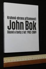 náhled knihy - Kruhová obrana přítomnosti. Básně a texty z let 1982 - 2009