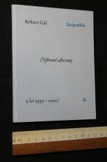 náhled knihy - Epigraffiti : (vybrané aforismy z let 1995-2000)