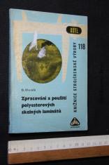 náhled knihy - Zpracování a použití polyesterových skelných laminátů
