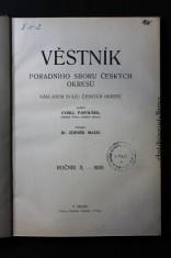 náhled knihy - Věstník poradního sboru českých okresů v Královstvím českém