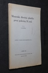 náhled knihy - Moravská dřevěná plastika první poloviny 14. stol.