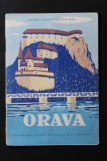 náhled knihy - Orava. Súbor turistických máp