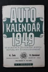 náhled knihy - Autokalendář 1949