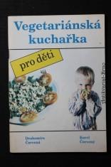 náhled knihy - Vegetariánská kuchařka : pro děti