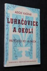 náhled knihy - Lázně Luhačovice a okolí