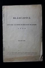 náhled knihy - Mládí zpívá zpěvník soutěže tvořivosti mládeže 1950 : 2. díl