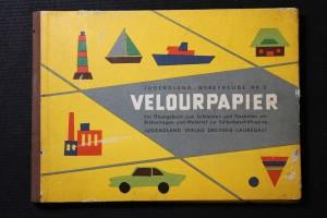 náhled knihy - Velourpapier. Ein übungsbuch zum schneiden und gestalten mit bildvorlagen und material zur selbstbeschäftigung
