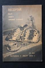 náhled knihy - Receptář - řezy, dorty, drobné cukroví