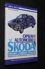 náhled knihy - Opravy automobilů Škoda Favorit, Forman, Pick-up : diagnostika závad, montážní postupy oprav, seřizovací hodnoty