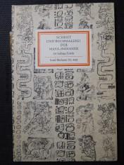 náhled knihy - Schrift und buchmalerei der Maya-Indianer