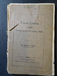 náhled knihy - Účasť Čechů v obraně Vídně proti Turkům 1529