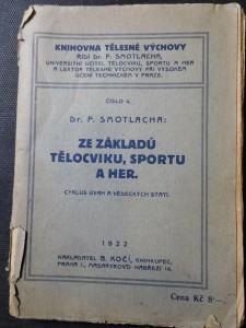 náhled knihy - Ze základů tělocviku, sportu a her : cyklus úvah a vědeckých statí