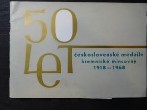 náhled knihy - 50 let československé medaile kremnické mincovny
