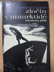 náhled knihy - Zločin v antarktidě