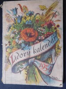 náhled knihy - Lidový kalendář na rok 1954