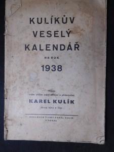 náhled knihy - Kulíkův veselý kalendář na rok 1938